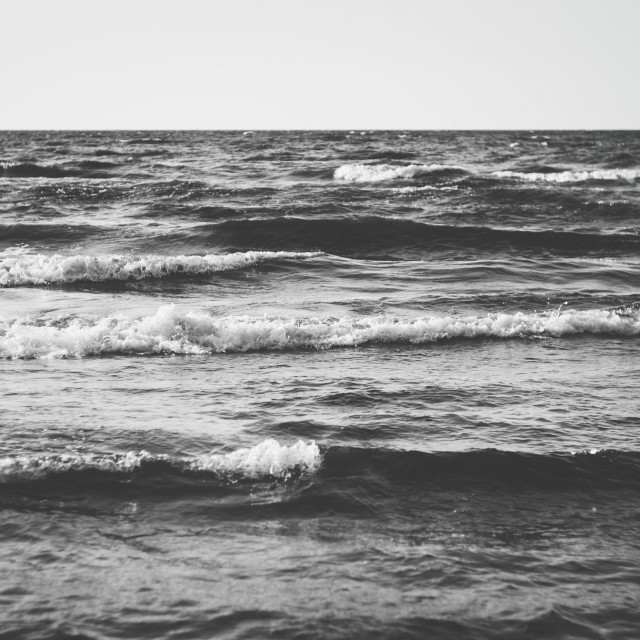 """Moody Waves"" stock image"