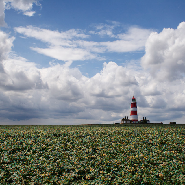 """Happisburgh Lighthouse"" stock image"
