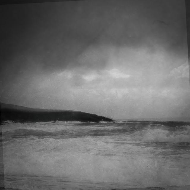"""Stormy Ocean"" stock image"