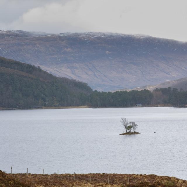 """Loch island"" stock image"