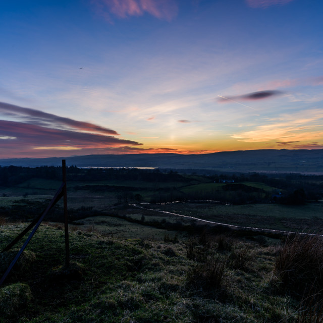 """""""beith sunset"""" stock image"""