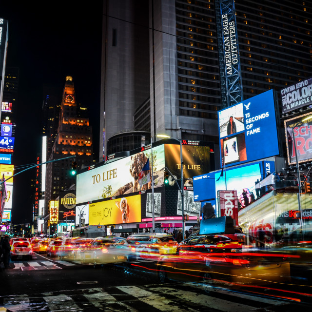 """The City That Never Sleeps"" stock image"