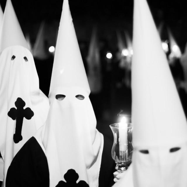 """""""Easter catholic Spanish procession"""" stock image"""