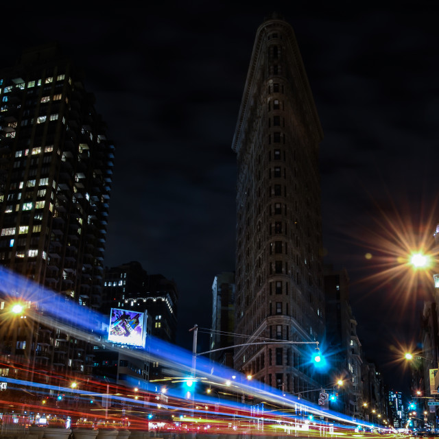 """Flat Iron Blues"" stock image"