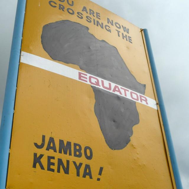 """Jambo Kenya"" stock image"