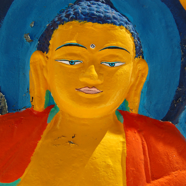 """Bodhisattva"" stock image"
