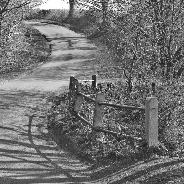 """Country Lane"" stock image"