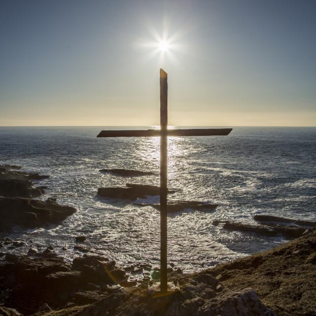 """The Sun The Sea and the Sacrifice"" stock image"
