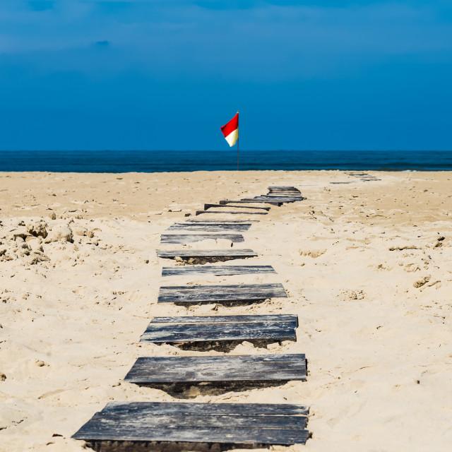 """Ocean Path"" stock image"