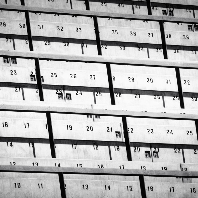 """""""Numbers of Oslo"""" stock image"""