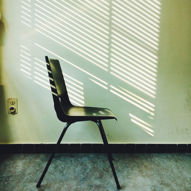 """Shadows Chair"" stock image"