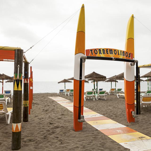 """Torremolinos"" stock image"