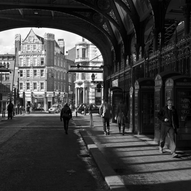 """Smithfield Market, London"" stock image"