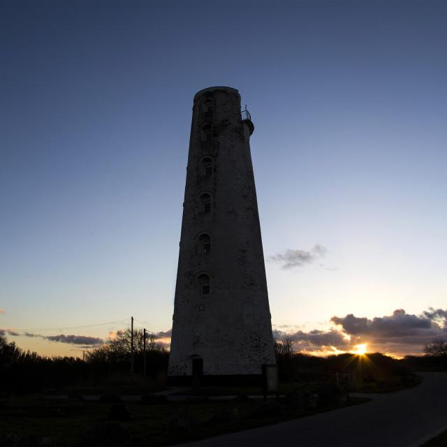 """""""Leasowe Lighthouse"""" stock image"""