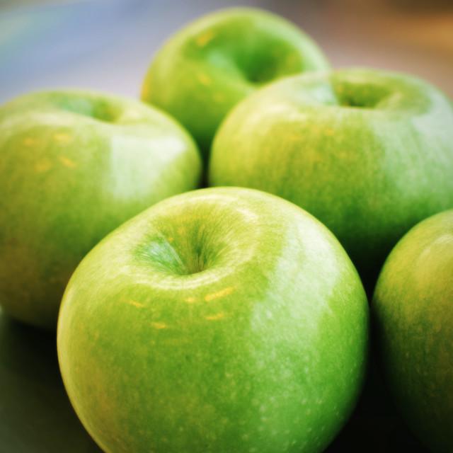 """Green Apples"" stock image"