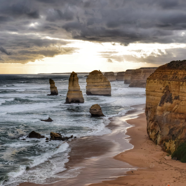 """The twelve apostles"" stock image"