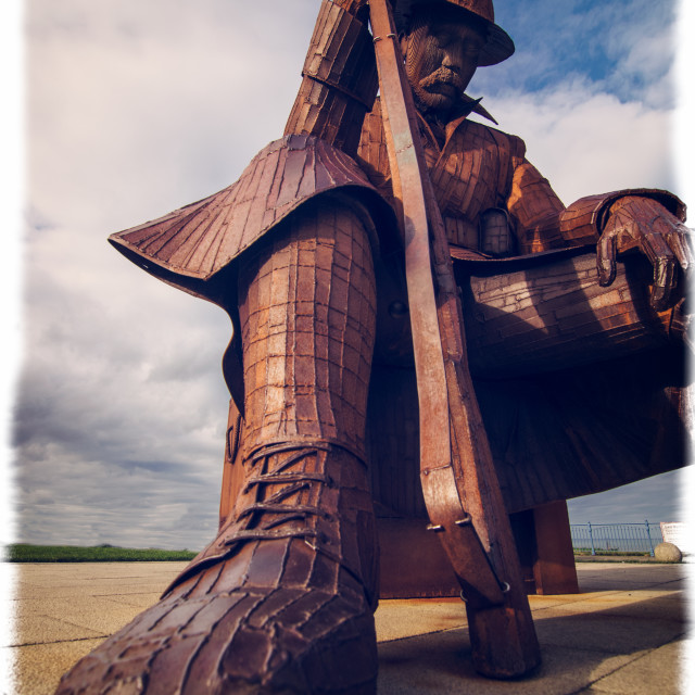 """""""Tommy, Seaham"""" stock image"""