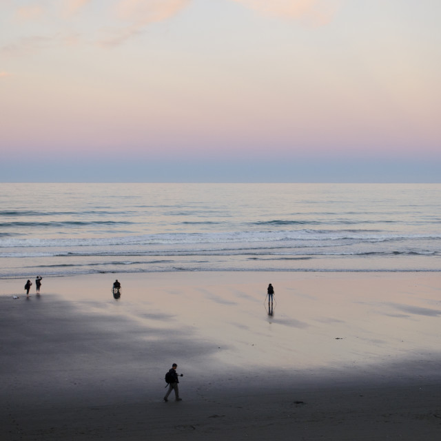 """The Photographer's Beach"" stock image"
