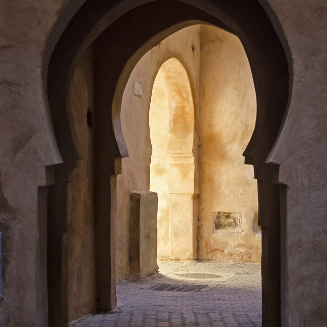 """ARCHWAY"" stock image"