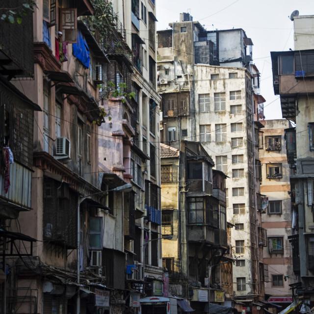 """""""MUMBAI STREET"""" stock image"""