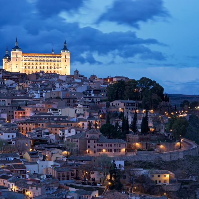 """""""The Alcazar of Toledo"""" stock image"""