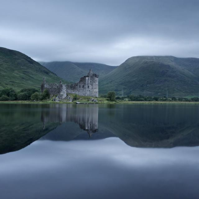 """""""Kilchurn castle"""" stock image"""