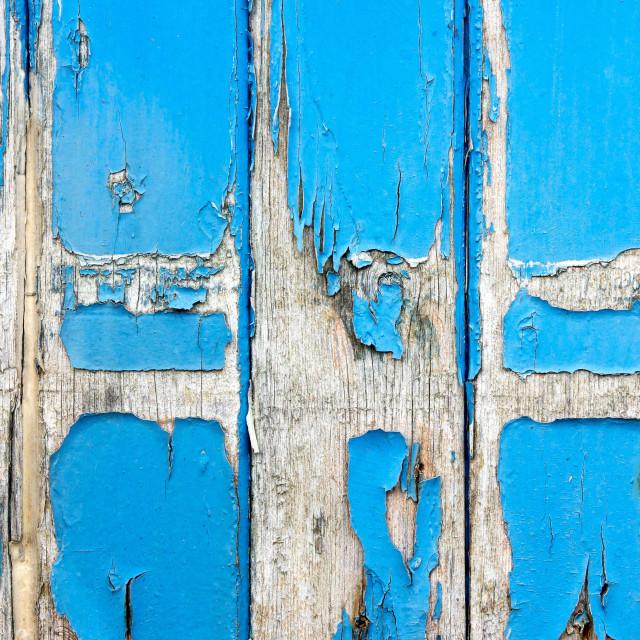 """""""Blue wood"""" stock image"""