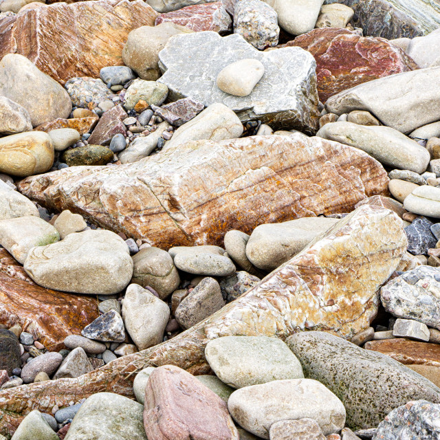 """Beach rocks"" stock image"