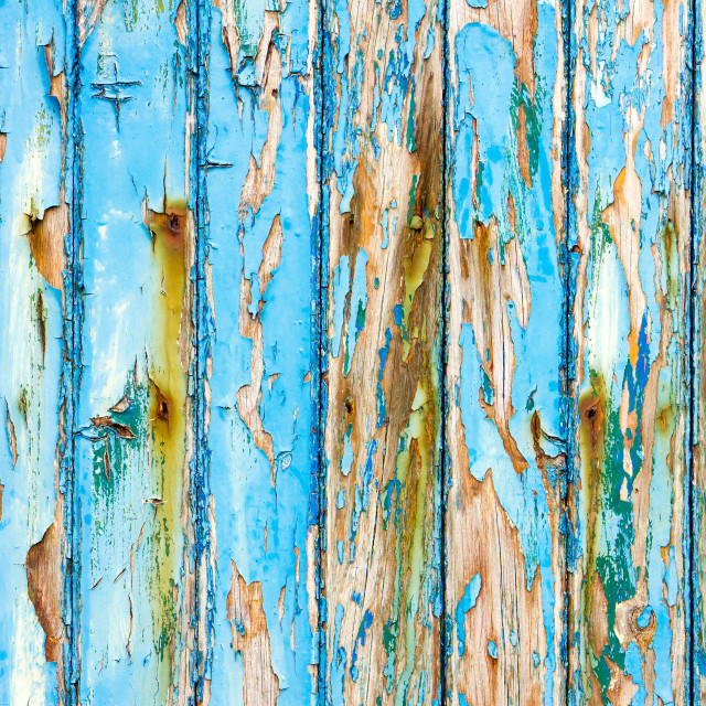 """Blue wood"" stock image"