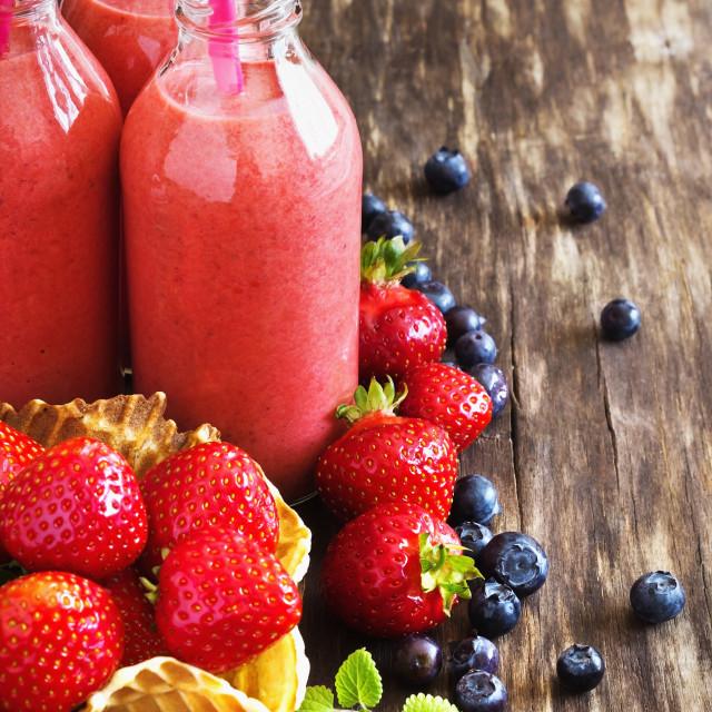 """vitamin breakfast"" stock image"