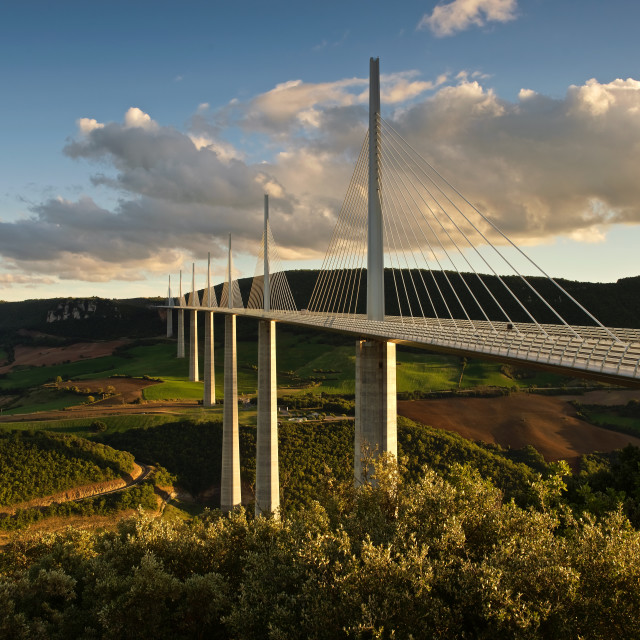 """The Millau Viaduct"" stock image"