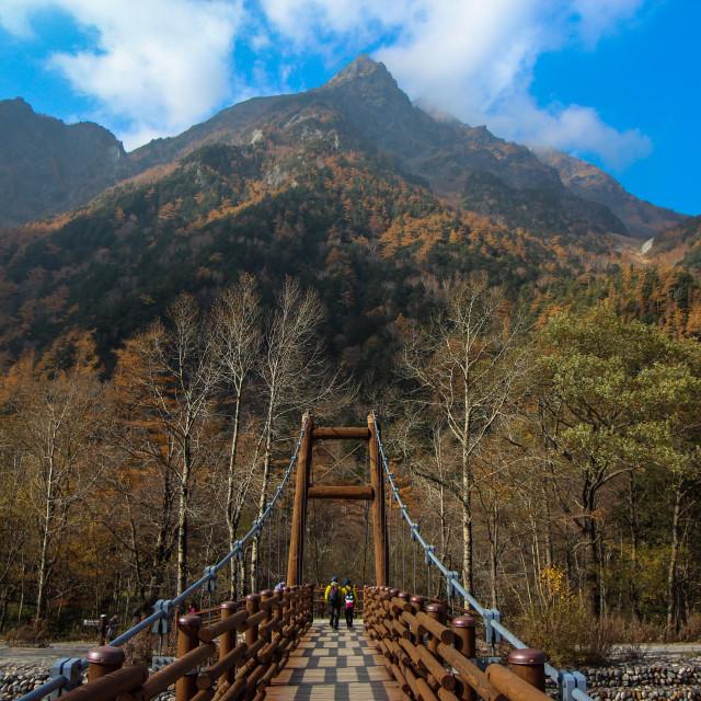 """Mountain Pass"" stock image"
