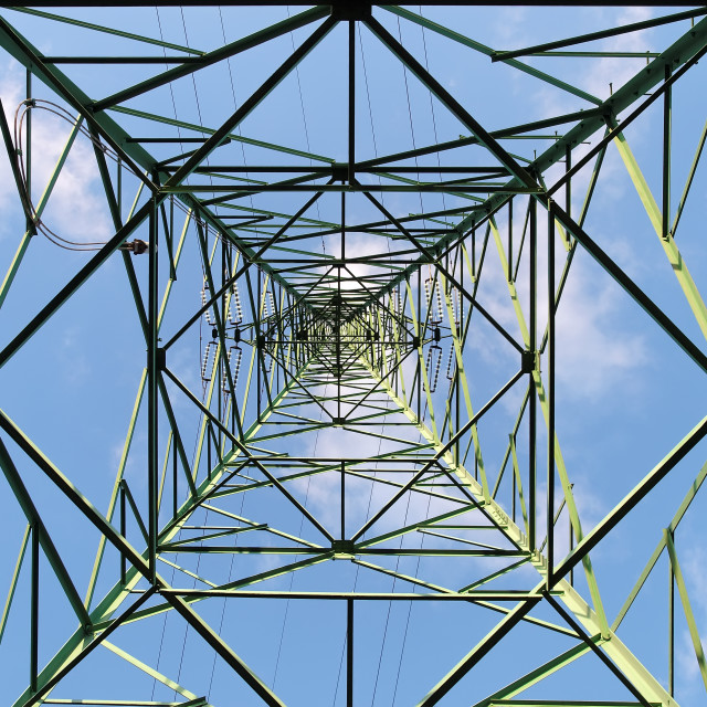 """Transmission tower"" stock image"