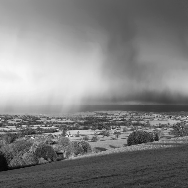"""Derbyshire Landscape"" stock image"
