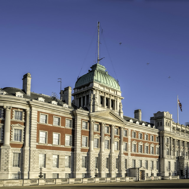 """Old Admiralty Building"" stock image"