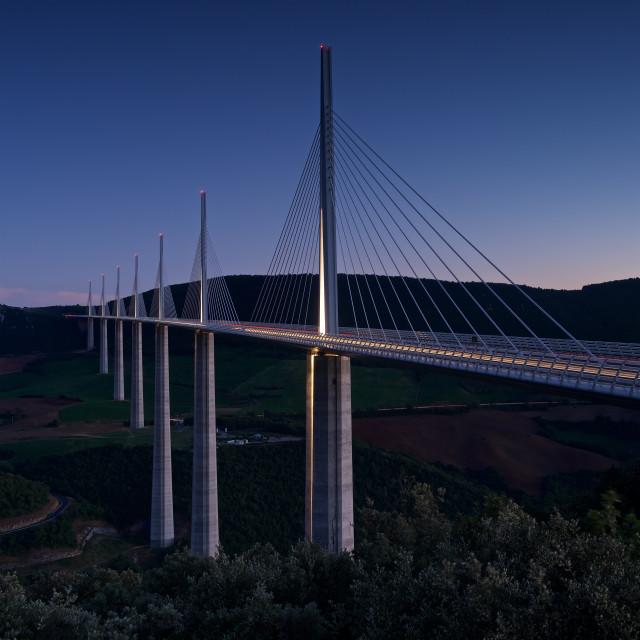 """""""Viaduc de Millau"""" stock image"""