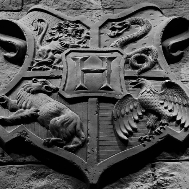 """""""The Hogwarts Crest"""" stock image"""