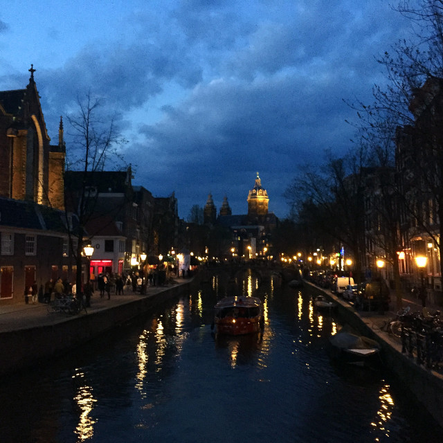 """Amsterdam Canals"" stock image"