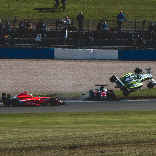 """MSA Formula Ford crash"" stock image"