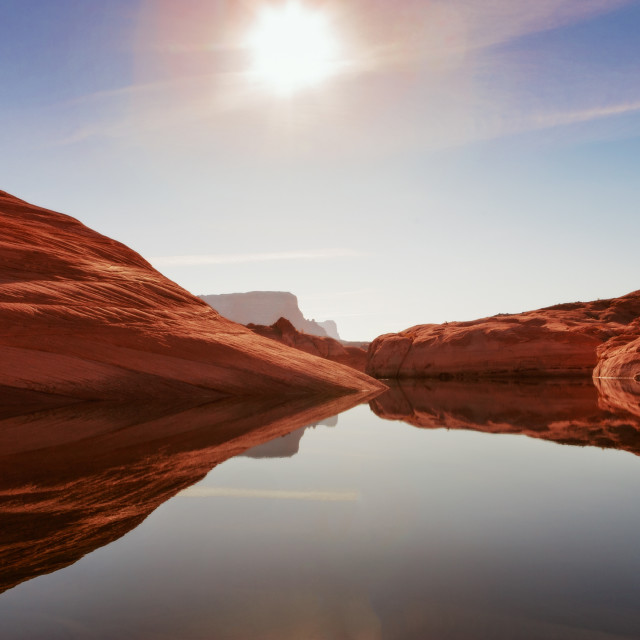 """Lake Powell"" stock image"