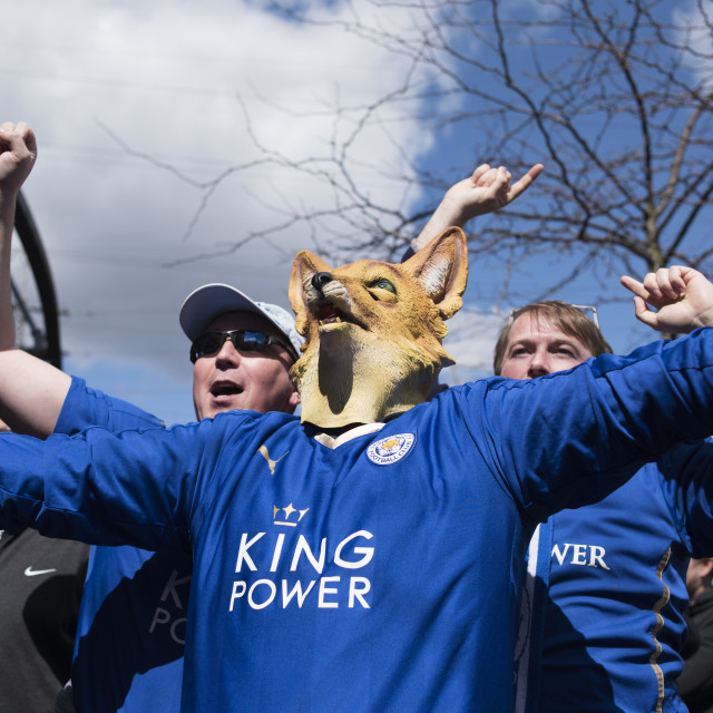 """""""Leicester City Football Club ."""" stock image"""