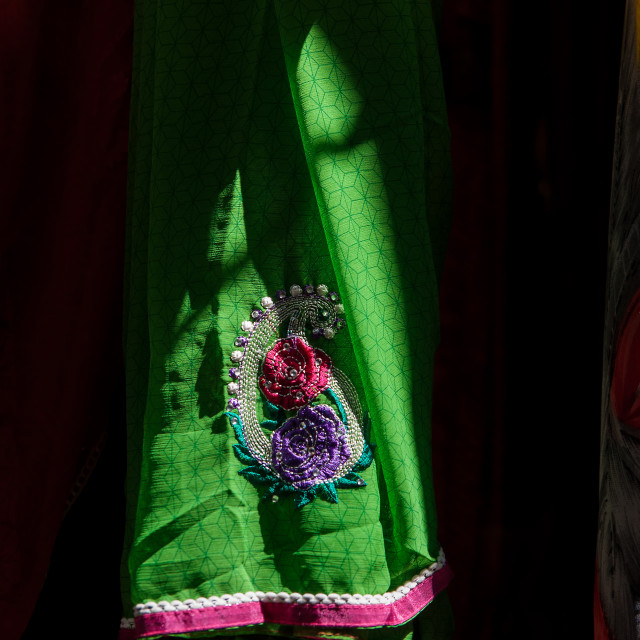 """Colourful Cloth"" stock image"