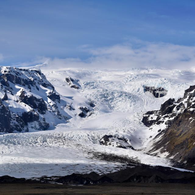 """""""Vatnajökull Glacier"""" stock image"""