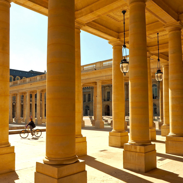 """Le Palais-Royal"" stock image"