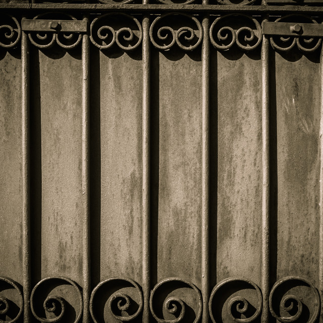 """Decorative lattice on a wall"" stock image"