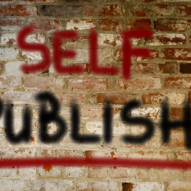 """Self Publish Concept"" stock image"