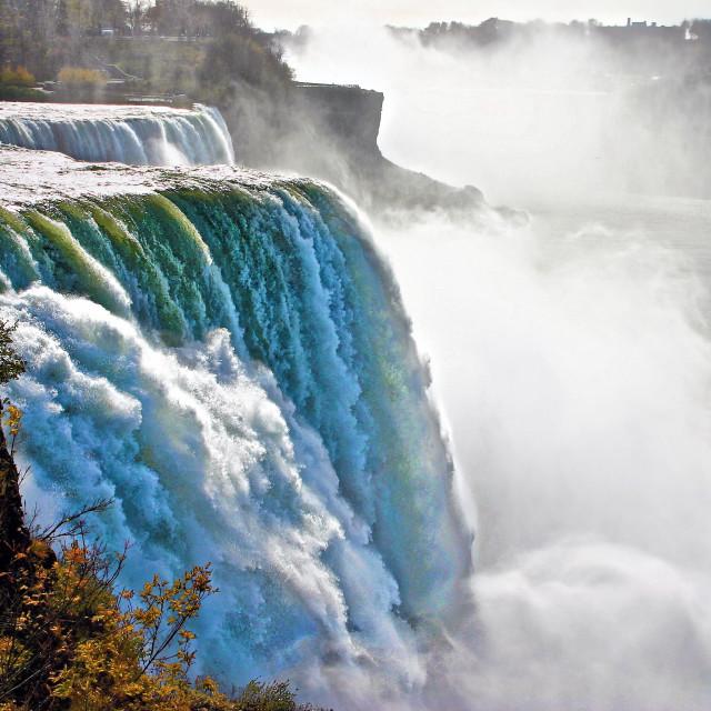 """American Falls at Niagara Falls"" stock image"