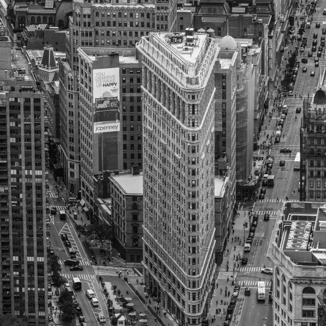 """Flat Iron Building New York"" stock image"