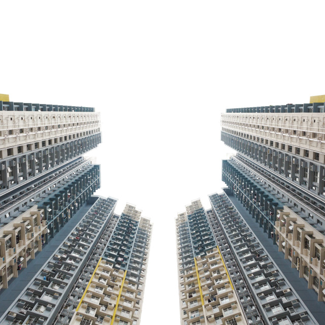 """Kowloon Housing"" stock image"
