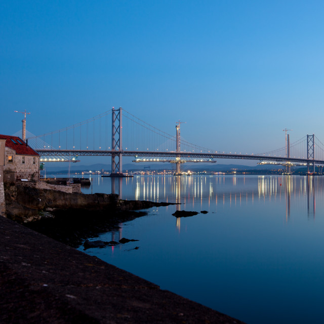 """Forth Bridges"" stock image"